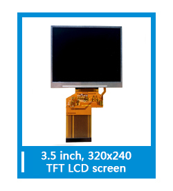 37 Pin Resolution 240x320 TFT LCD Panel 2.4inch TFT LCD Display for Medical Machine