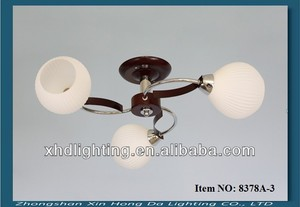 china manufacture decorative light fitting, children room glass ball ceiling light