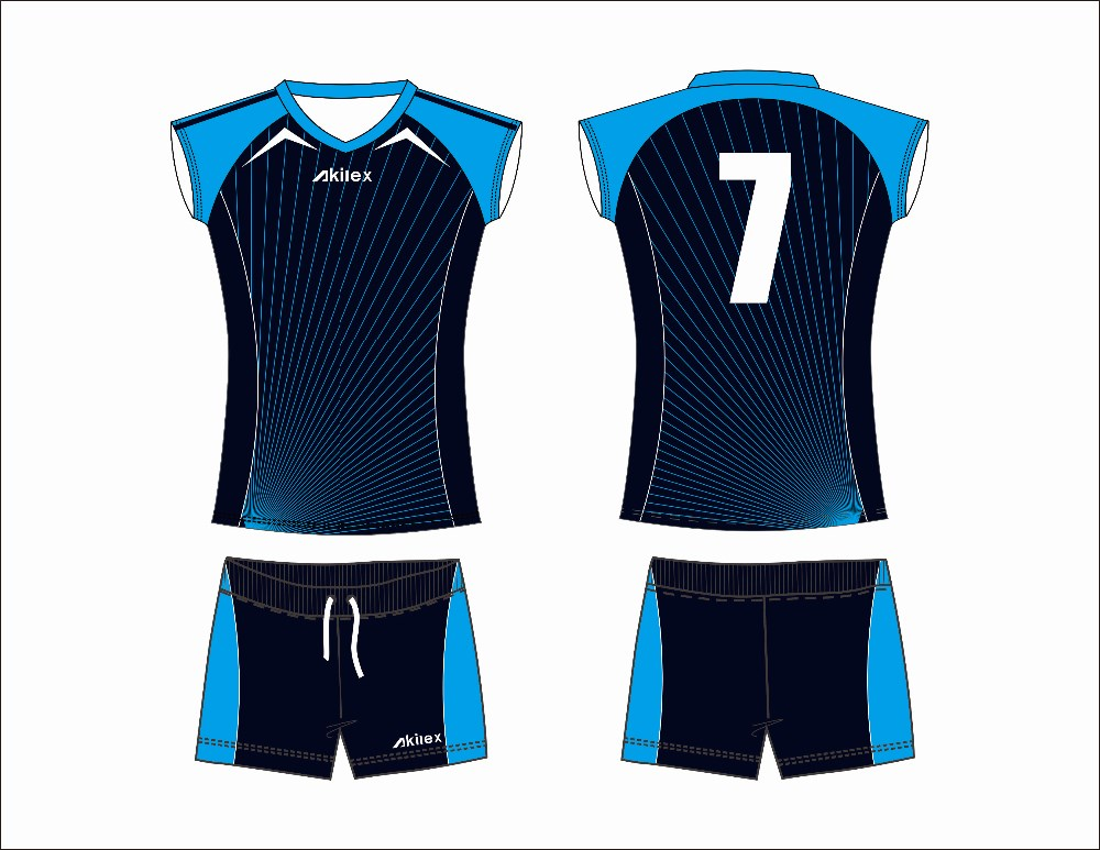 Custom Volleyball Uniform 116