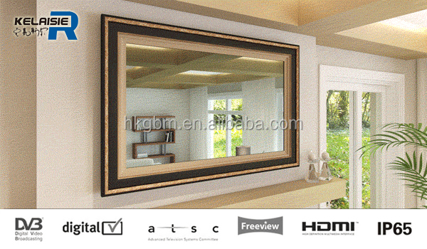 42 inch Smart Mirror Display, Magic Mirror with Digital TV Advertising for Luxury Hotel