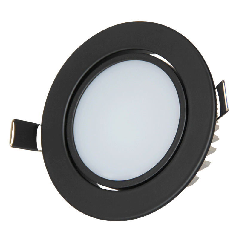 10PCS 3W 5W 7W LED Ceiling Downlights Recessed Spotlights Round Tilt AC85-265V