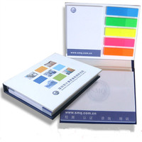 Hardcover sticky note with PET film Index