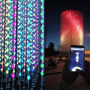 GG DMX Led 3D Ball Strip Led Ball Light Outdoor 3D Led Cube