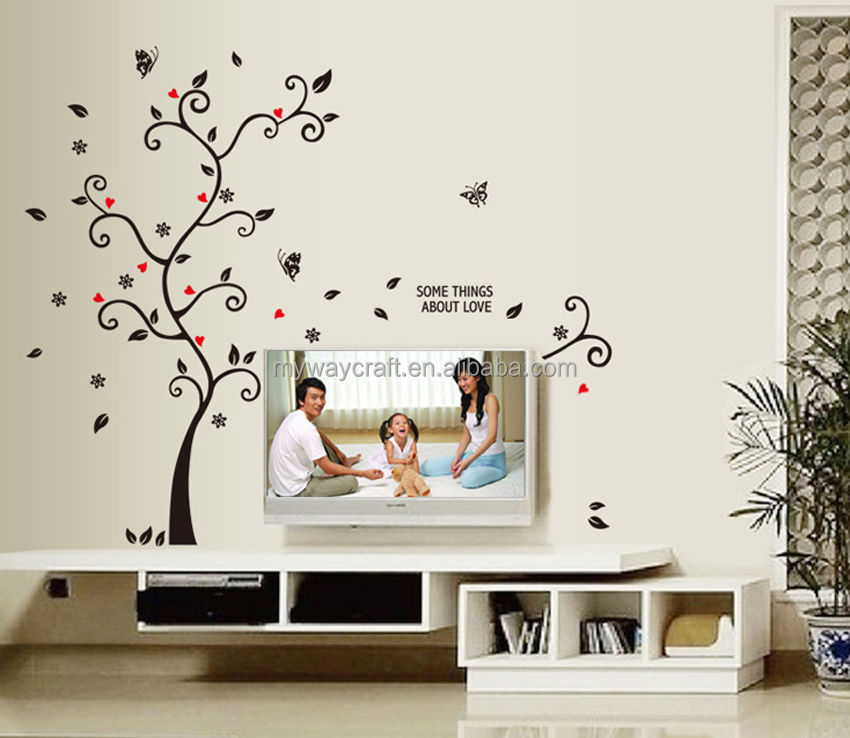 diy art wall decal room decor stickers vinyl removable paper mural