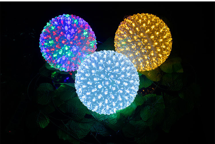 christmas led light balls large outdoor christmas balls led light ball - Christmas Light Ball