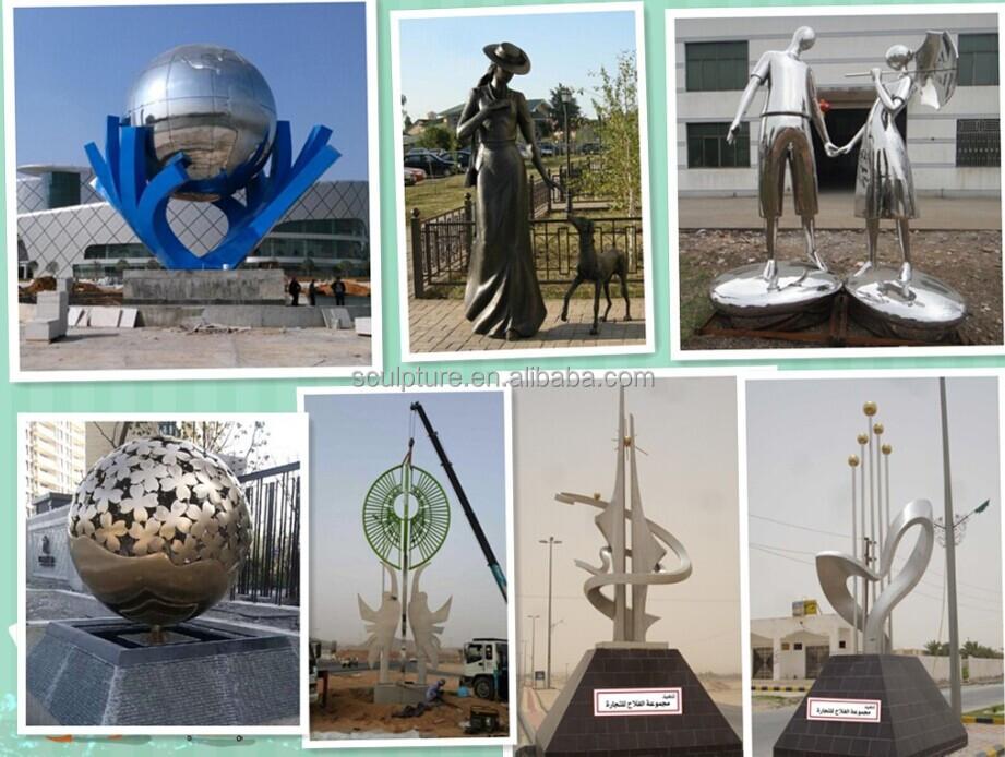 Contemporary Small Or Big Metal Sculpture Artists Zhejiang Shengfa Supplier  Finish Sculpture Metal - Buy Finish Sculpture Metal,Contemporary Metal