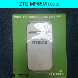 Unlocked New ZTE MF65M HSPA+ 21 6Mbps 3G Mifi Router 3G UMTS 2100MHz Mobile  Pocket WIFI Broadband 3G SIM Card