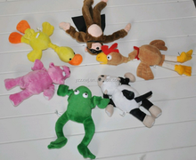 free sample fling shot screaming plush flying animal monkey stuffed flying animal shot Peluche Slingshot Toy Flying Plush Monkey