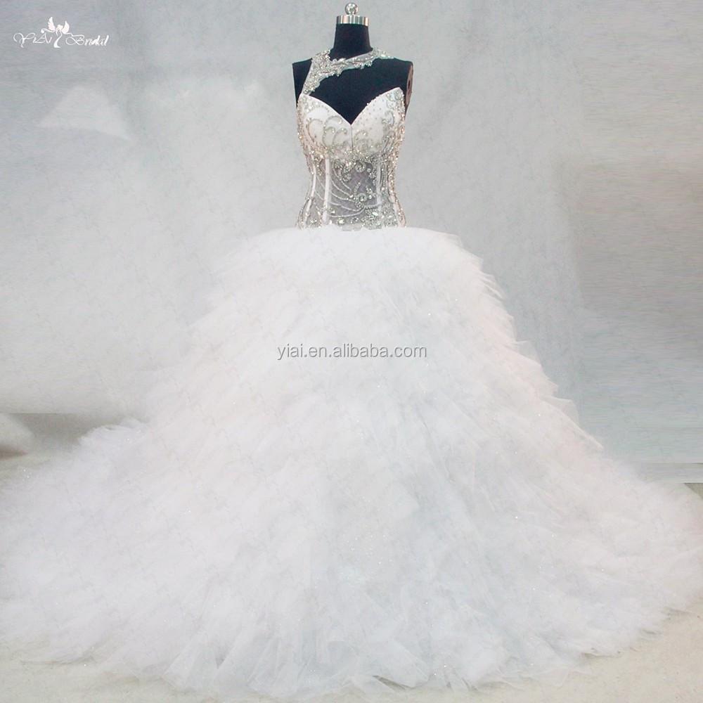 Venta al por mayor corset para vestidos de novia transparentes ...