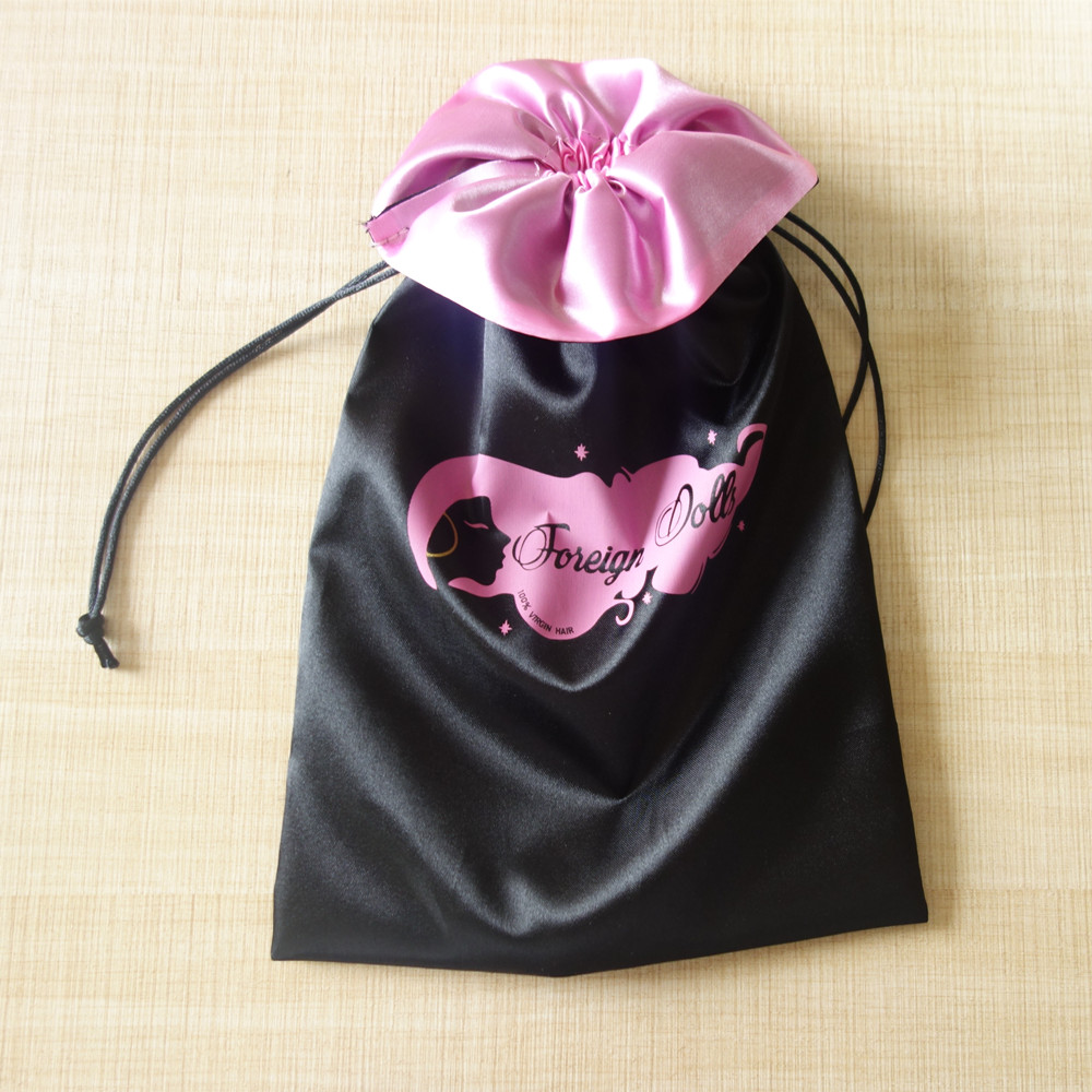 Trendy Customized Satin Bag For Hair/Clothing