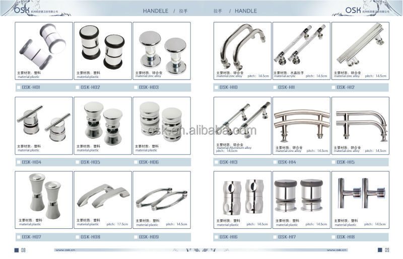 China Manufacture Spare Parts Shower Enclosure Osk-834 - Buy Spare ...