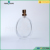 Round shape Glass Perfume Spray Bottle Aluminum Cap