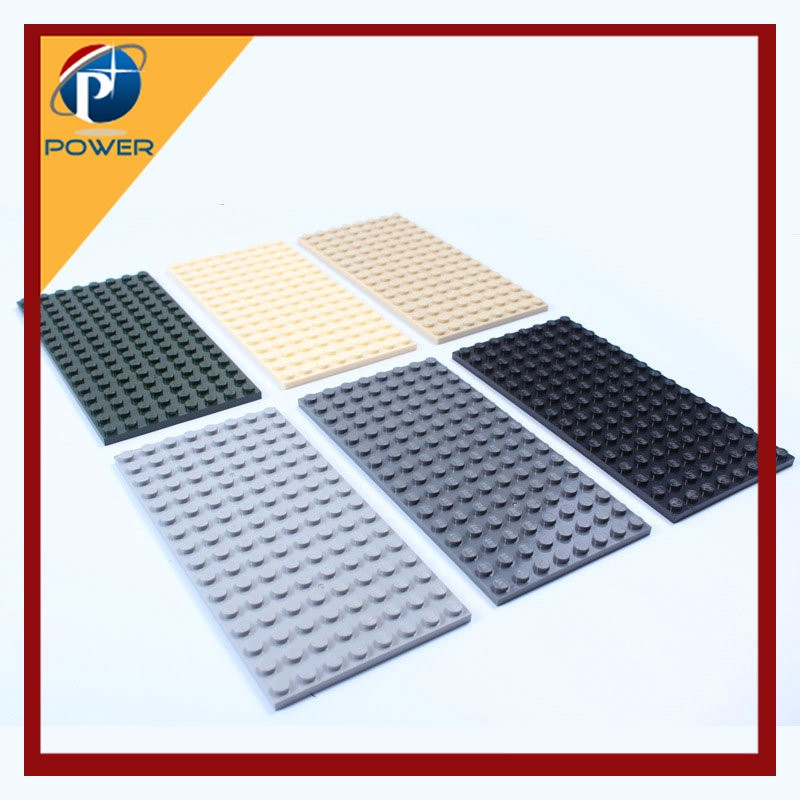 8*16 Dots DIY Base Plate for Compatible with Blocks