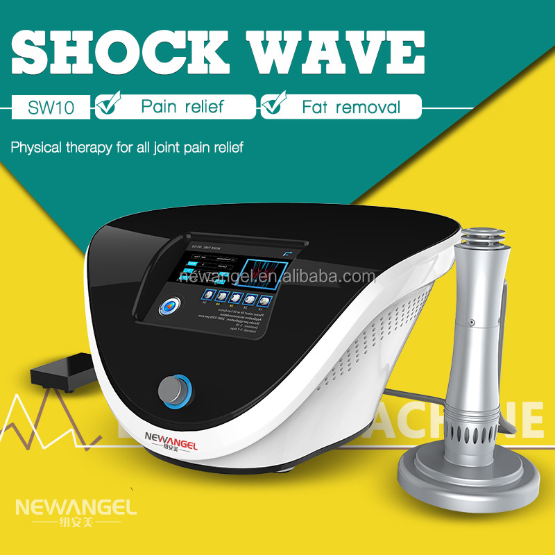 Shock wave machine price body pain treatment physical therapy equipment
