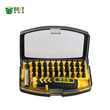 BEST 21068 32pcs in 1 Hand Tool Precision Magnetic Screwdriver Set for Repairing Computer Home Appliance