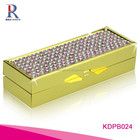Customized high quality cheap price rhinestone medicine pill boxes