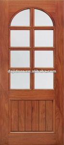 DJ-S5322C Wooden 8 Lites Glass Interior Door Designs 2012