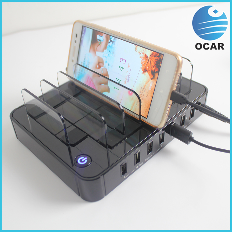 Ocar alibaba cell phone charging station lockers 10 port Cell phone charging station