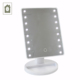 Professional beauty and personal care electric battery 16 led lighted makeup mirror table