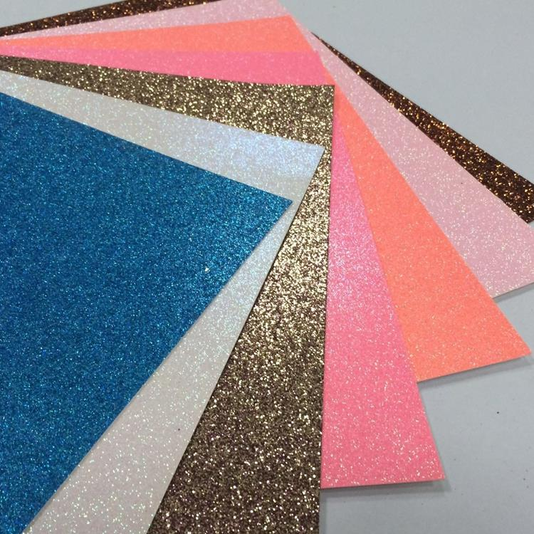 OEM ODM accepted sparkly glitter cardstock glitter <strong>paper</strong>