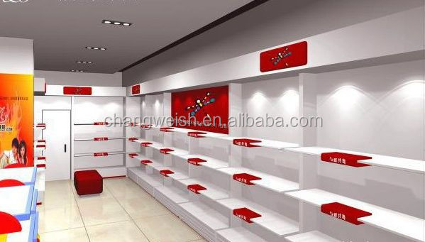 Shoes Shop Interior Design, Modern Shop Design Used In Shopping Mall