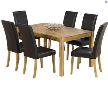Grote Houten Tafels : Tl066 b klassieke houten eettafel sean dix forte oslo mdf eettafel
