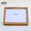 Solid Ash wood modern home decoration family photo picture frame manufacturer