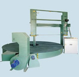 Horizontal Cutting Machine With Rotating Table