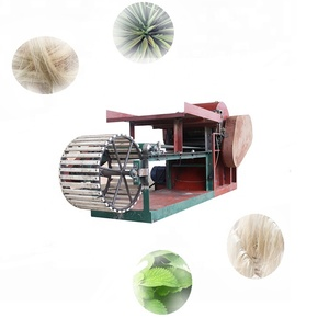 automatic agricultural fibers extracting for sisal hemp banana stem price