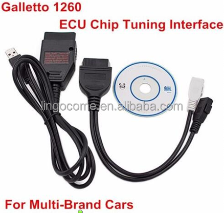 CA1009 ECU TUNING TOOL REMAP FLASHER CABLE PROGRAMMER 1260 OBD OBD2 EOBD USB PC LEAD
