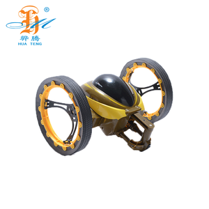 2.4GHZ Sumo Jumping Bounce 777-359 Cars Flexible Wheels Stunt Toy RC Car AS Speed King