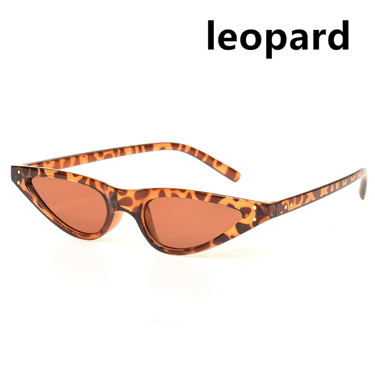 d8833fdb27 Cute sexy retro cat eye sunglasses women small black white triangle vintage  sun glasses red female