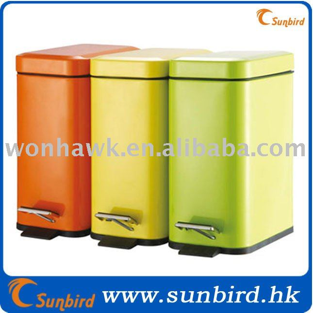 Captivating 3 Color Trash Can   Buy 3 Color Trash Can,Dust Bin Sturdy Garbage Bin Home  Step Bin,Garden Wastebin Rubbish Bin Rubbish Box Trash Can Product On  Alibaba.com