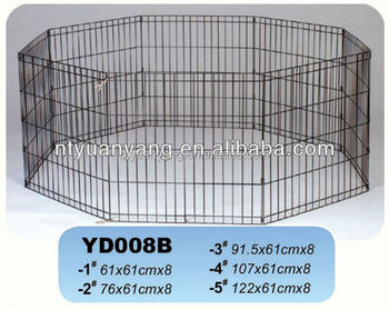 trade assurance outdoor portable folding metal dog fence