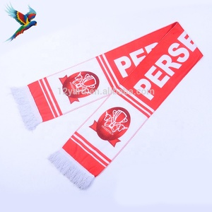 factory promotion double size printed italy football team scarf sport neck pashmina shawl