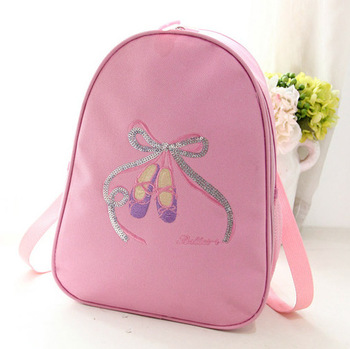 S Personalized Ballet Shoes Backpack Dance Bags
