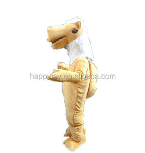HI CE High quality top sale camel mascot costume for adult