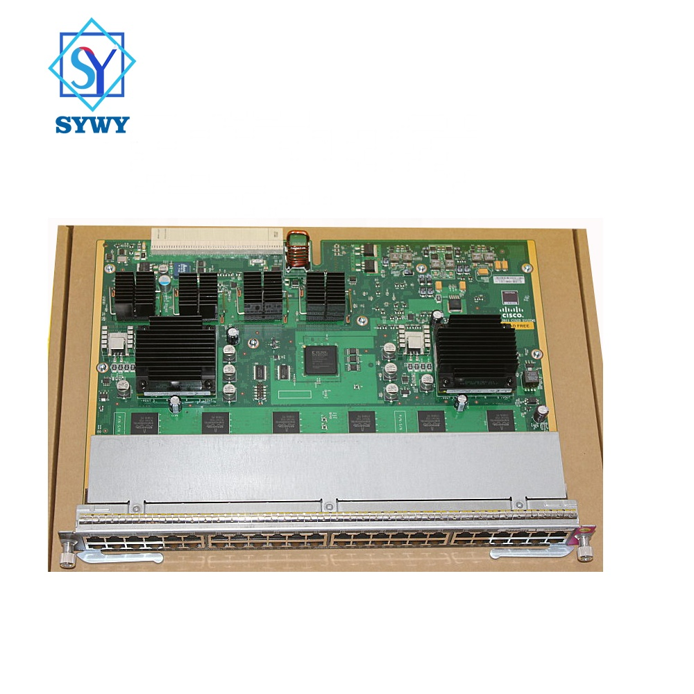 Hot new season launches brand new original CISCO core board module WS-X4648-RJ45V+E for Cisco Catalyst 4500E switch