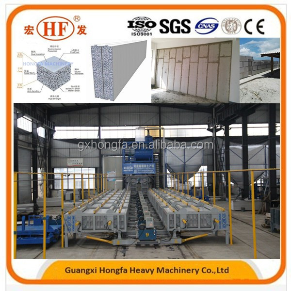 Lightweight Foam Equipment/Wall Panel Making Machine Production Line