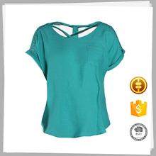 Proveedor de ropa best selling fitness moda smart casual blusa