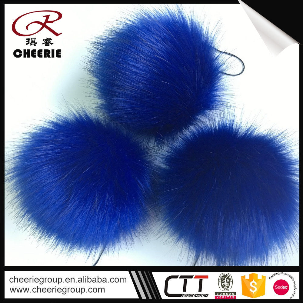 Updated Cheapest customed Faux making fur ball chicago 2016 large pom balls