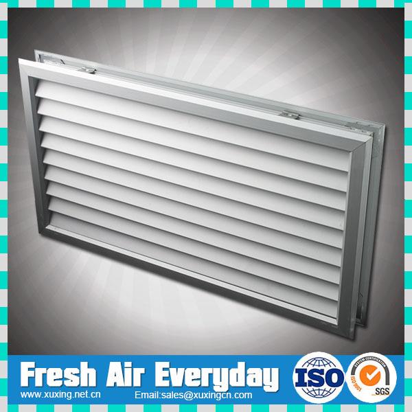 Les portes en aluminium ext rieur air vent de ventilation for Par a vent exterieur