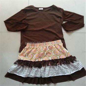 Boutique Designer Clothing Bulk Buy Baby Girls Solid Cotton Blank