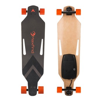 8 Layers Maple Electric Skateboard with Remote Controller 500W Power