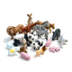 custom plastic miniature toy farm animals figurines