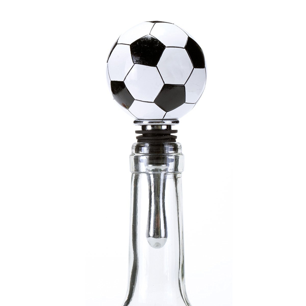 Oenophilia Sports Wine Ball Stopper, Soccer Ball