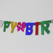 Groothandel Papier Gors Met Felicitatie Letters <span class=keywords><strong>Vlag</strong></span>