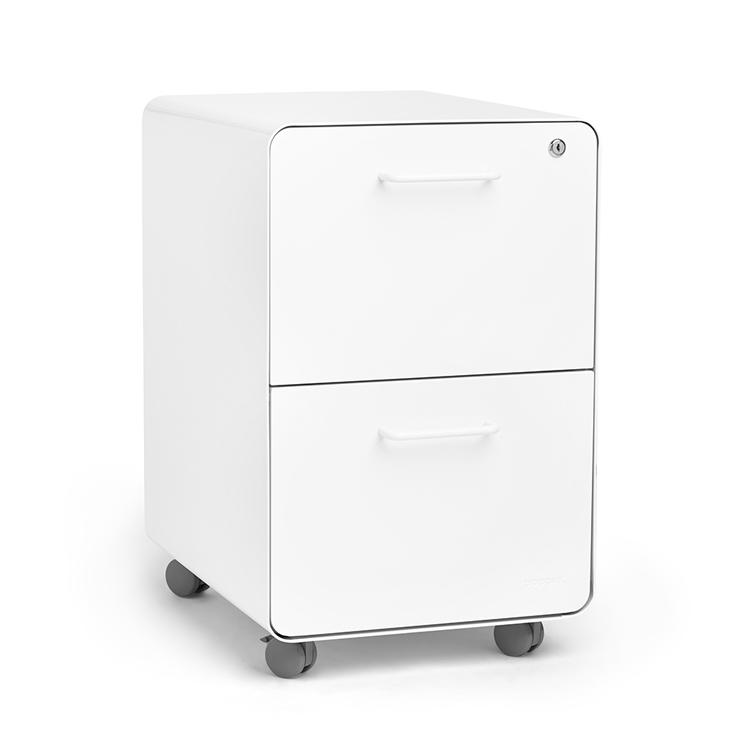 Office Desk Lateral Moving Pedestal Filing Cabinet Mobile Storage ...