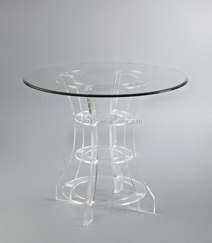 Affordable Round Acrylic Plexiglass Pmma Coffee Dining Table From China  Round Acrylic Plexiglass Pmma Coffee Dining Table With Plexiglass Tables.