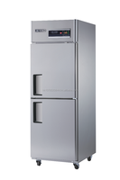 Reach-in Solid Half Door Freezer